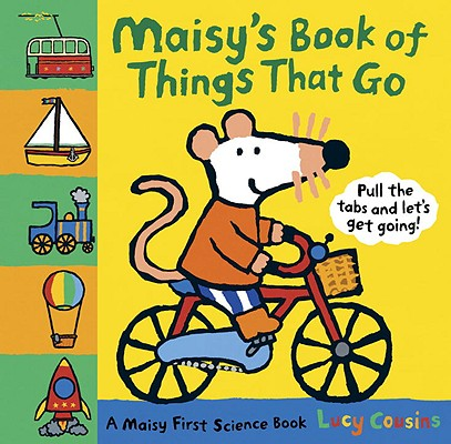 Maisy's Book of Things That Go Cover