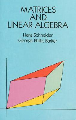 Matrices and Linear Algebra (Dover Books on Mathematics) Cover Image