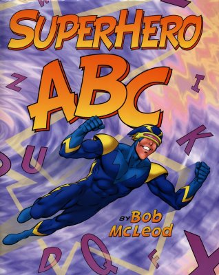 Superhero ABC Cover