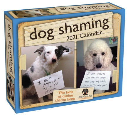 Dog Shaming 2021 Day-to-Day Calendar Cover Image