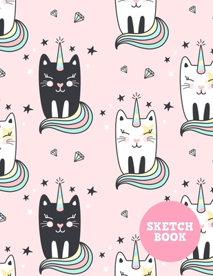 Sketch Book: Pretty Note Pad for Drawing, Writing, Painting, Sketching or Doodling - Art Supplies for Kids, Boys, Girls, Teens Who Cover Image