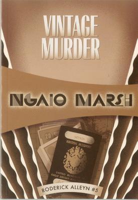 Vintage Murder: Inspector Roderick Alleyn #5 Cover Image