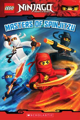 Masters of Spinjitzu (LEGO Ninjago: Reader) Cover Image