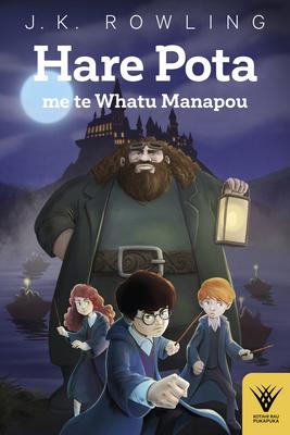 Hare Pota me te Whatu Manapou (Kotahi Rau Pukapuka #1) Cover Image