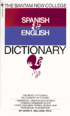 The Bantam New College Spanish and English Dictionary Cover