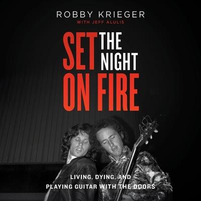 Set the Night on Fire Lib/E: A Book Cover Image