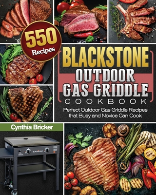 Blackstone Outdoor Gas Griddle Cookbook Cover Image