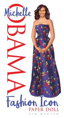 Michelle Obama Fashion Icon Paper Doll Cover Image