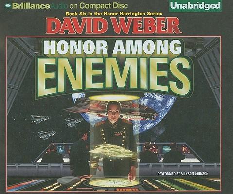 Honor Among Enemies (Honor Harrington (Audio)) Cover Image