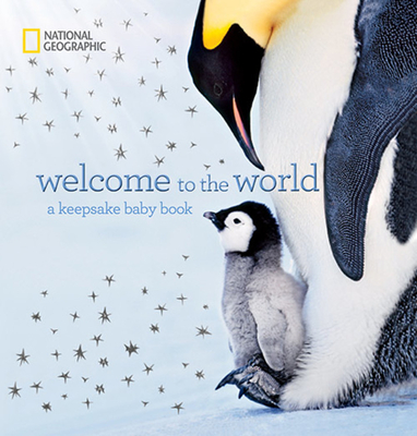 Welcome to the World: A Keepsake Baby Book Cover Image