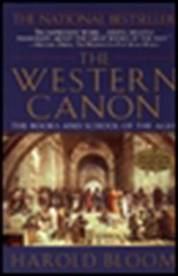The Western Canon: The Books and School of the Ages Cover Image