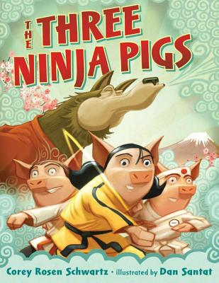 The Three Ninja Pigs Cover Image