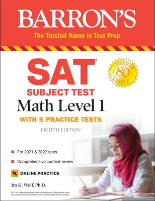 SAT Subject Test Math Level 1: with 5 Practice Tests Cover Image