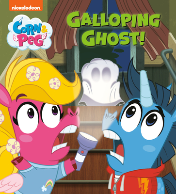 Cover for Galloping Ghost! (Corn & Peg)