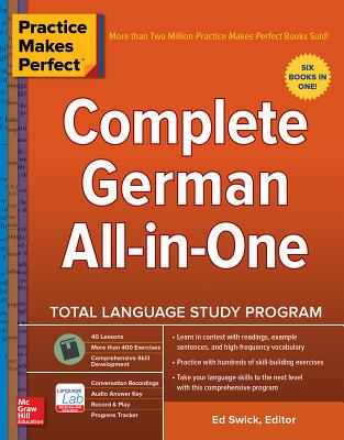 Practice Makes Perfect: Complete German All-In-One Cover Image