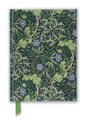 William Morris: Seaweed Wallpaper Design (Foiled Journal) (Flame Tree Notebooks) Cover Image