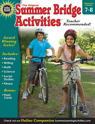 Summer Bridge Activities(r), Grades 7 - 8 Cover Image