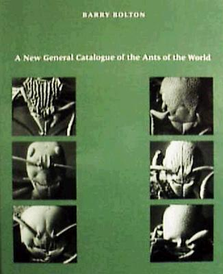 Cover for A New General Catalogue of the Ants of the World