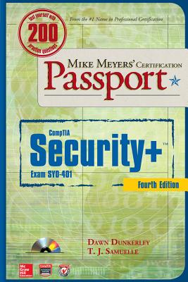 CompTIA Security+: (Exam SYO-401) [With CDROM] (Mike Meyers' Certficiation Passport) Cover Image