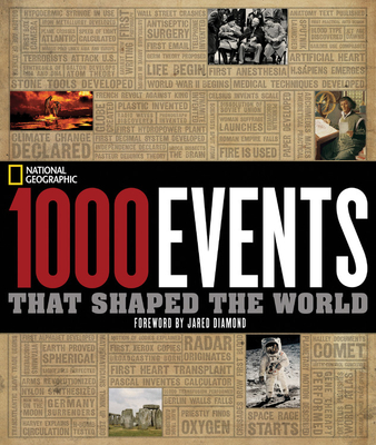 1000 Events That Shaped the World Cover
