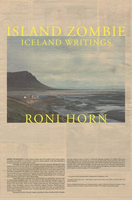 Island Zombie: Iceland Writings Cover Image