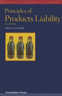 Principles of Products Liability Cover Image