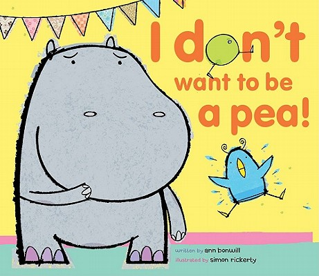 I Don't Want to Be a Pea! Cover