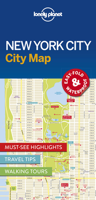 Lonely Planet New York City Map Cover Image
