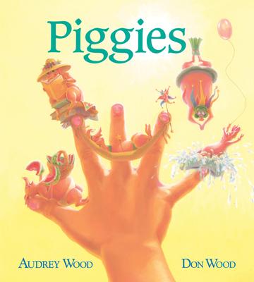 Piggies (Board Book) Cover Image