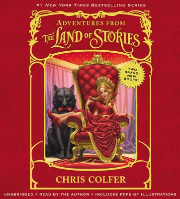 Adventures from the Land of Stories, Boxed Set: The Mother Goose Diaries and Queen Red Riding Hood's Guide to Royalty Cover Image
