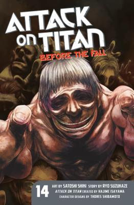 Attack on Titan: Before the Fall 14 cover image