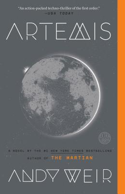 Artemis: A Novel Cover Image