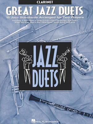 Great Jazz Duets: Clarinet Cover Image