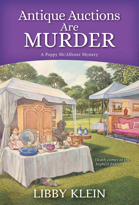 Antique Auctions Are Murder (A Poppy McAllister Mystery #7) Cover Image