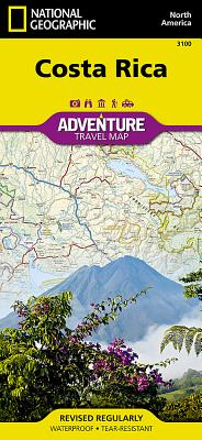 Costa Rica (Adventure Map (Numbered) #3100) Cover Image