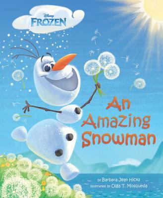 Frozen An Amazing Snowman Cover Image