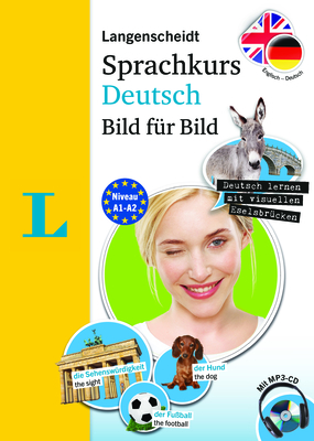 Langenscheidt German Language Course Picture by Picture - The Visual German Language Course, Coursebook and Audio CD (English Edition): Sprachkurs Deu Cover Image