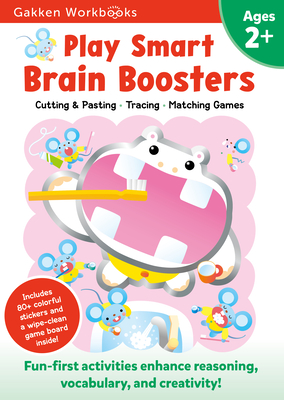 Play Smart Brain Boosters Age 2+: At-home Activity Workbook Cover Image