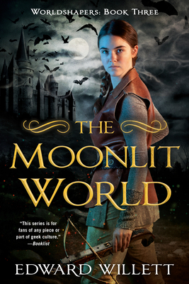 Cover for The Moonlit World (Worldshapers #3)
