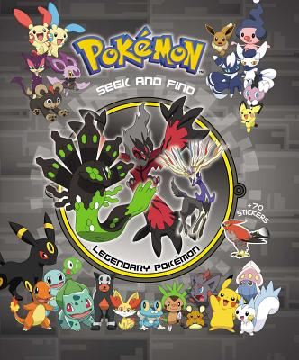 Pokémon Seek and Find - Legendary Pokemon Cover Image