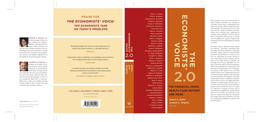 Economists' Voice 2.0 Cover Image