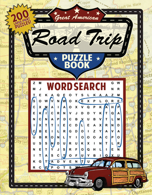 Great American Road Trip Puzzle Book Cover Image