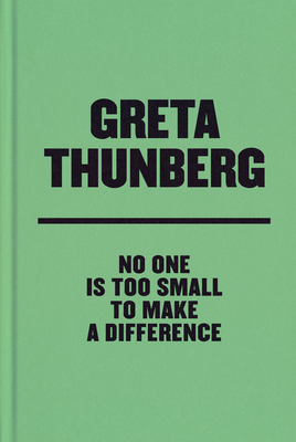 No One Is Too Small to Make a Difference Deluxe Edition Cover Image