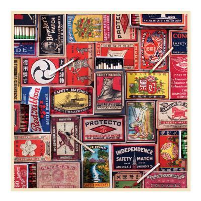 Vintage Matchboxes 500 Piece Puzzle Cover Image