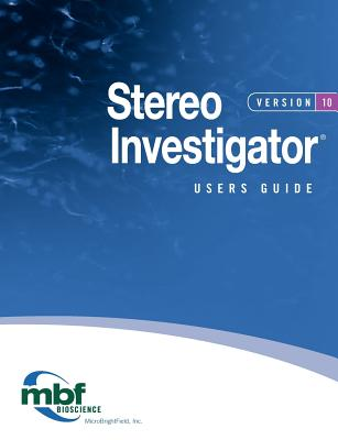 Stereo Investigator 10 Users Guide Cover Image