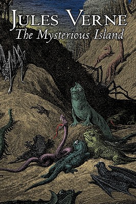The Mysterious Island by Jules Verne, Fiction, Fantasy & Magic Cover Image