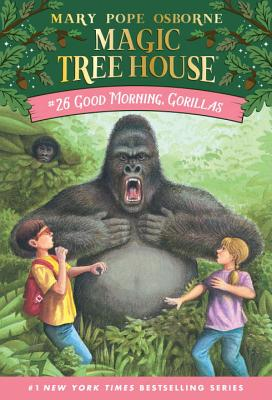 Good Morning, Gorillas (Magic Tree House (R) #26) Cover Image