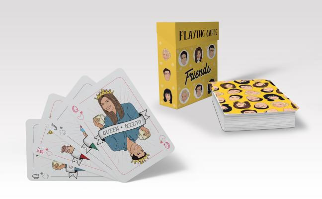 Friends Playing Cards Cover Image