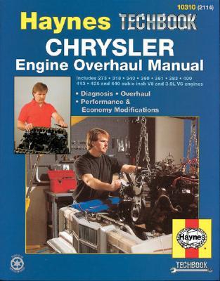Chrysler Engine Overhaul Manual (Haynes Techbook) Cover Image