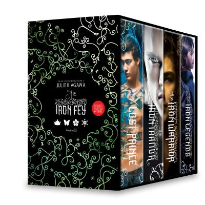 The Iron Fey Boxed Set 2: The Lost Prince, the Iron Traitor, the Iron Warrior, the Iron Legends Cover Image